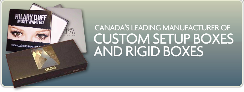 Majorbox - Canada's leading manufacturer of custom setup boxes and rigid boxes